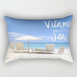 Vitamin Sea Rectangular Pillow