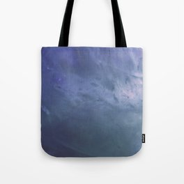 Watery Blue Crystal Tote Bag