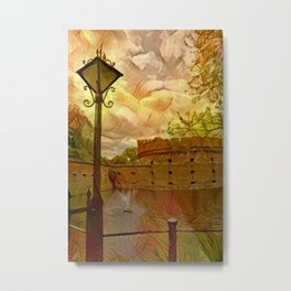 Old fort in the city of Kaliningrad Metal Print