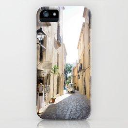 Ibiza Alley iPhone Case