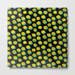 Abstract illustration pattern Metal Print