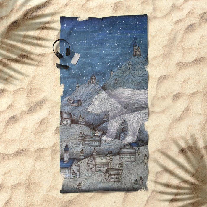 I Protect This Place II Beach Towel