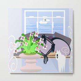 The Lilac room Metal Print