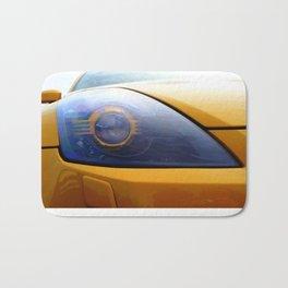 The Eye Of A Transformer Bath Mat