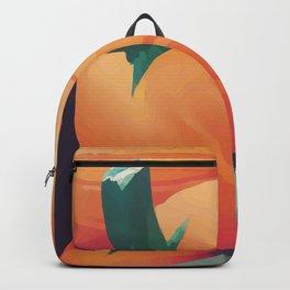 Orange Pumpkins  Backpack