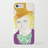 willy wonka iPhone & iPod Cases featuring Wilder Wonka by Joshua A. Biron