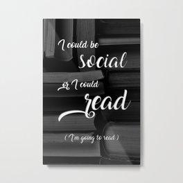 Books > Social Life Metal Print