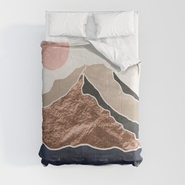 Mount Hood Oregon - Daylight Wilderness Comforters