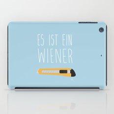 The Wiener Schnitzel Fail iPad Case