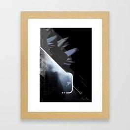 Off-Centred Framed Art Print