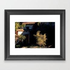 mission olive Framed Art Print