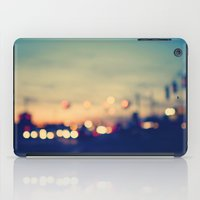 city iPad Cases featuring We're only young once by Laura Ruth