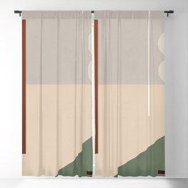 Minimal Abstract Art 73 Blackout Curtain