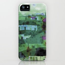Guatemala Lluvia iPhone Case