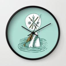 The Ninja Shark Wall Clock