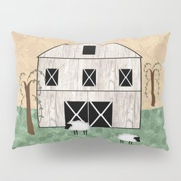 Primitive Barn Pillow Sham