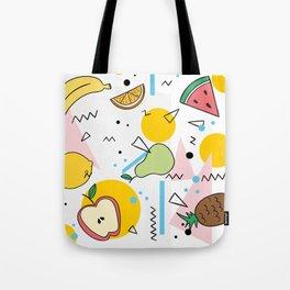 Fruit Salad Memphis Tote Bag