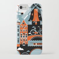 amsterdam iPhone & iPod Cases featuring Amsterdam by koivo
