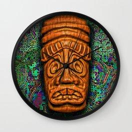 GoldTikiDude Wall Clock