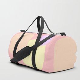Let's Appreciate Our Shapes no.10 - pink modern minimalist art simple design Duffle Bag