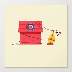 The Red Baron or Snoopy's Doghouse Canvas Print