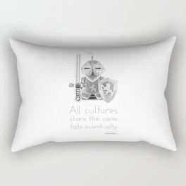 Medieval - All Cultures Share the Same Fate Eventually Rectangular Pillow
