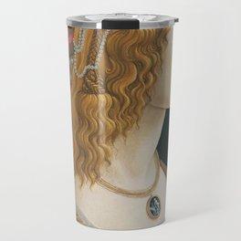 Idealized Portrait of a Lady (Portrait of Simonetta Vespucci as Nymph) Travel Mug