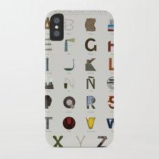 Alfabeto malagueño © iPhone X Slim Case