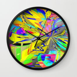 Pinch-Point Wall Clock
