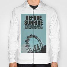 Before Sunrise Movie Poster Hoody