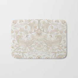 William Morris Vintage Lodden Antique Beige & Ivory Bath Mat