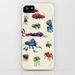 Iridescent Bugs - Set A iPhone Case