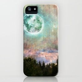 Planetary Soul Haven Day iPhone Case