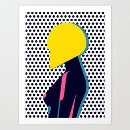 Hairdo Composition VI Art Print
