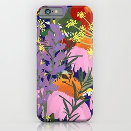 Aromatherapy for the Bees in Midnight Navy iPhone Case
