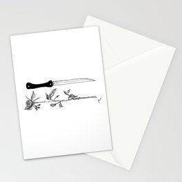 Don't look at me Stationery Cards