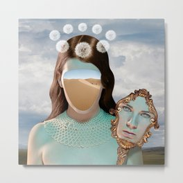 Lady of the Dunes Metal Print