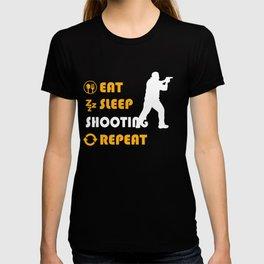 Shooting Graphic T Shirt T-shirt