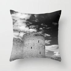 Ukrainian Castle Throw Pillow