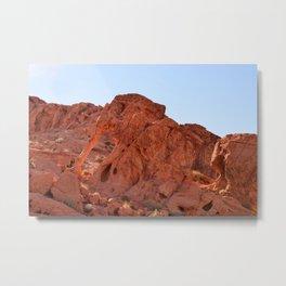 Elephant_Rock, Valley_of_Fire - II Metal Print