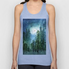 Silent Forest Unisex Tank Top