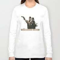 the walking dead Long Sleeve T-shirts featuring Walking Dead by store2u