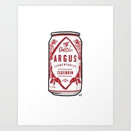 Argus Cider Art Print