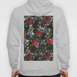 Stitched Roses Hoody
