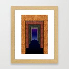Halls of Solitude Framed Art Print
