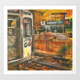Addison Stop Art Print