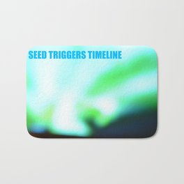 SEED TRIGGERS TIMELINE Bath Mat