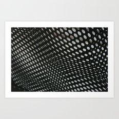 perforation 3 Art Print