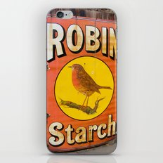 Robin Starch iPhone & iPod Skin