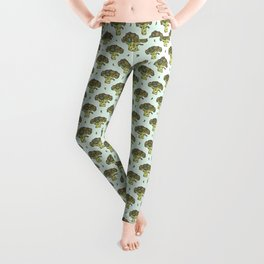 brilliant broccoli Leggings